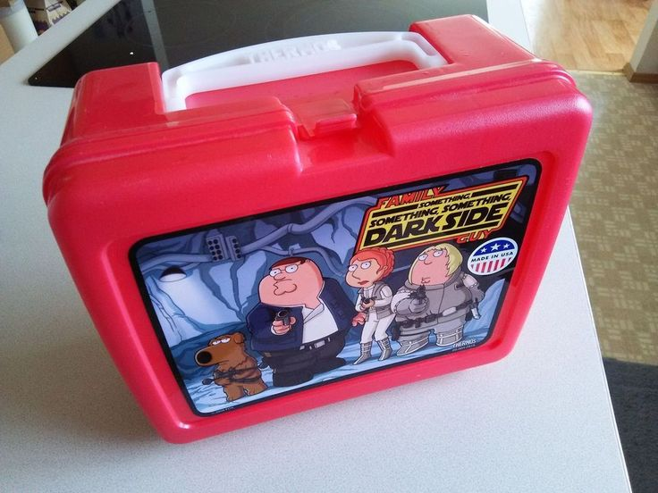 Family Guy Something Something Something Darkside Lunch Box - FREE SHIPPING!
