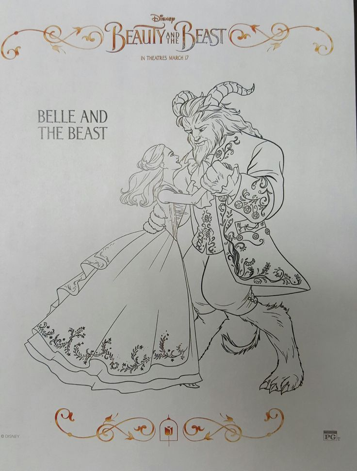 44 best FREE Printable Activity Sheets images on Pinterest - fresh printable coloring pictures of beauty and the beast