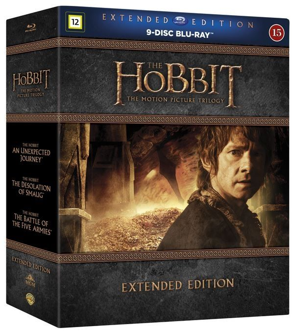 Hobitti - The Motion Picture Trilogy - Extended Edition (9 disc) (Blu-ray)