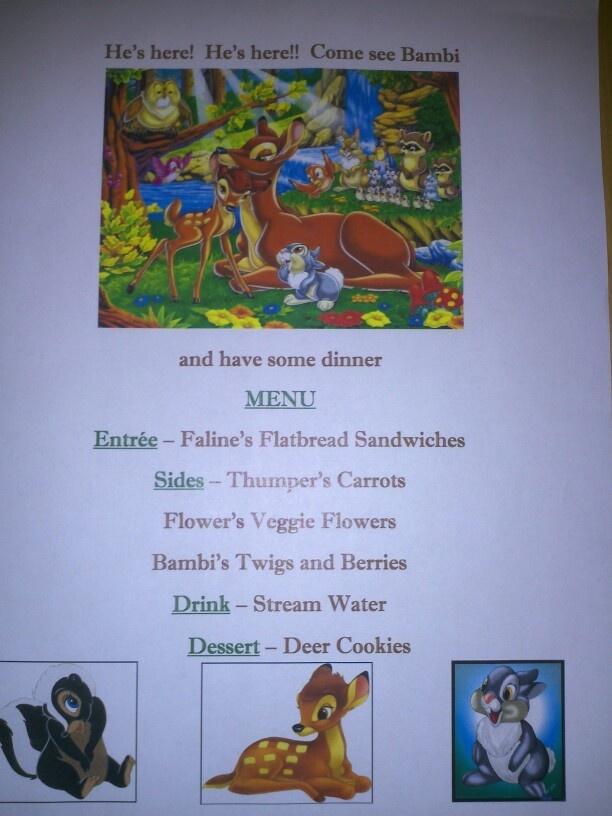 Disney Dinner Nights - Bambi
