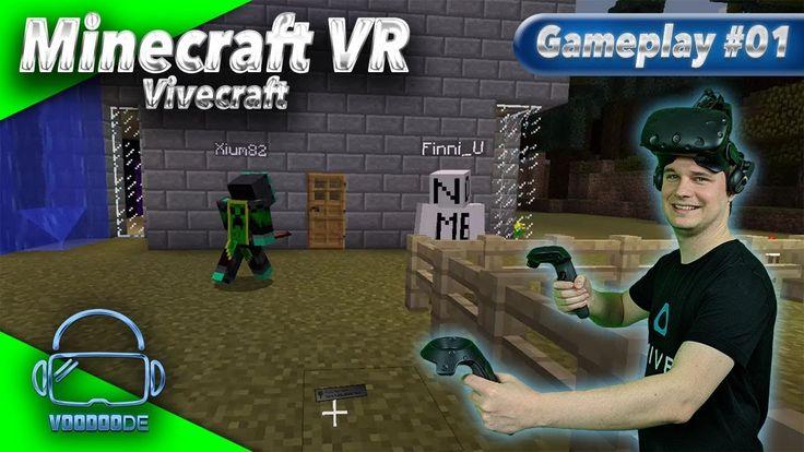 Minecraft VR - Unterwegs mit der deutschen VR Gemeinde [Let's Play][Gameplay][Vive][Virtual Reality] by VoodooDE