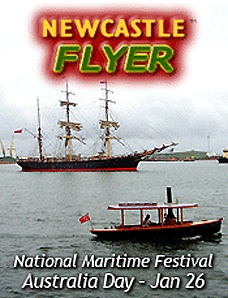 The Newcastle Flyer to the   National Maritime Festival