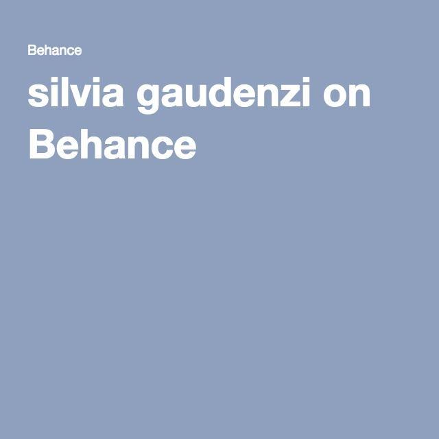 silvia gaudenzi on Behance