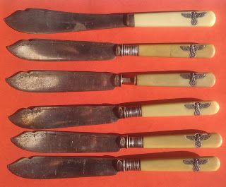 CANTEEN CASINO WAFFEN SS WEHRMACHT NSDAP KNIFE DAGGER GERMAN WW2 PRICE $549