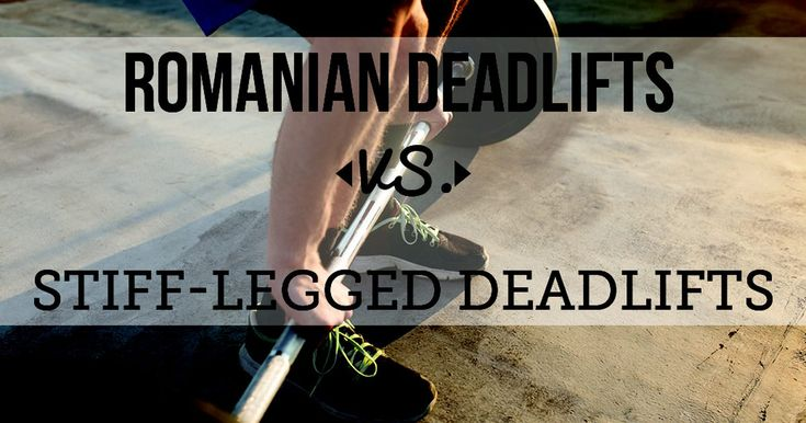 Two popular deadlift variations -- the Romanian deadlift and stiff-legged deadlift -- both work your lower back and hamstrings. Since they are very similar exercises, the differences in technique are minor, but the differences in application remain significant. In addition to building muscle, both exercises can help improve your squat and deadlift...