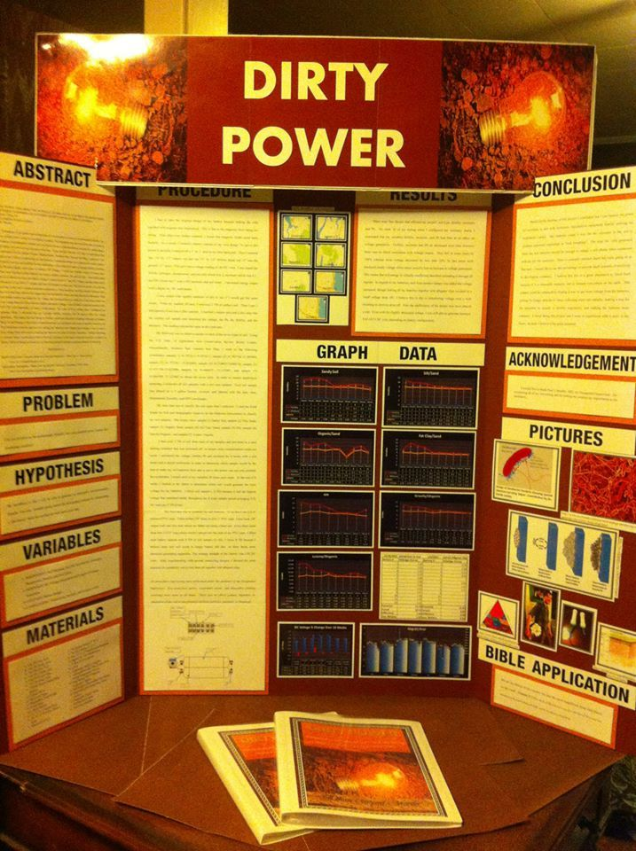 how to come up with a science fair project