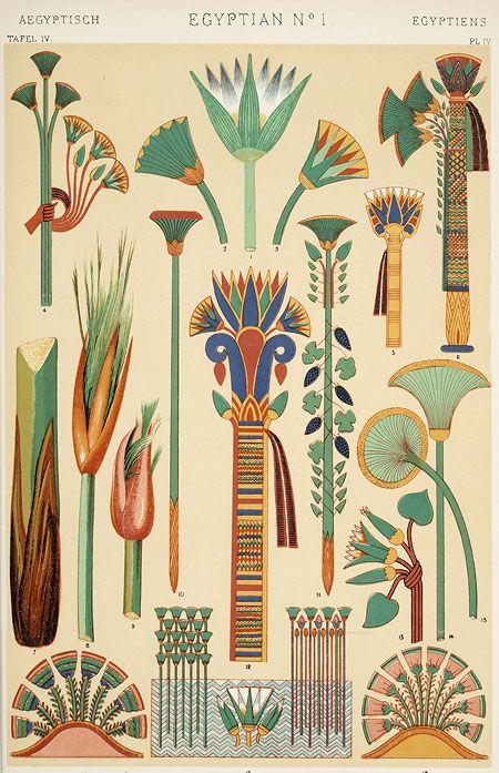 древний египет орнамент - Поиск в Google