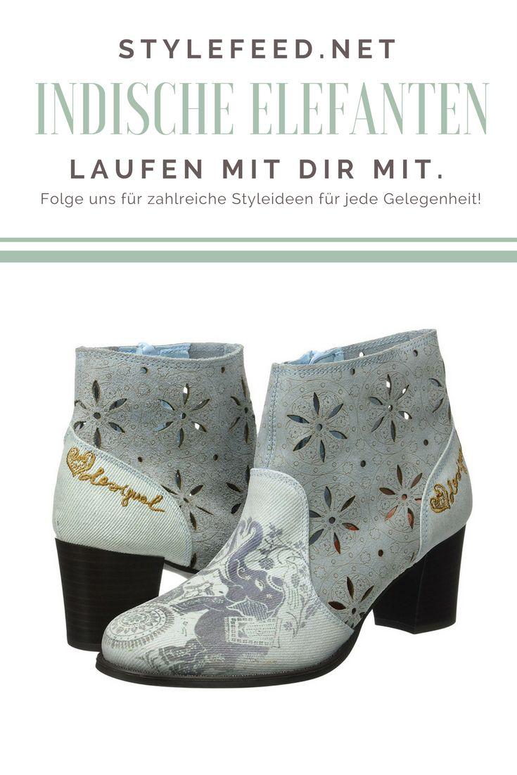 Diese Halbstiefel machen dein Outfit orientalisch - für 119,95 € von Desigual! | Stylefeed