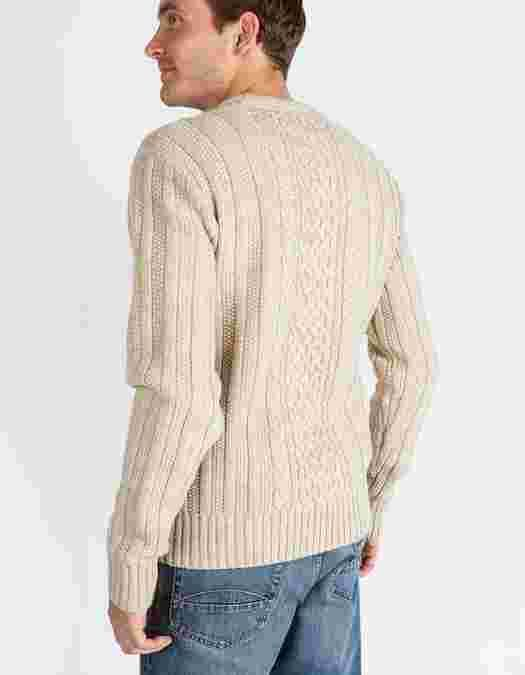 Main image showing Kelstern Cable Crew Neck Jumper