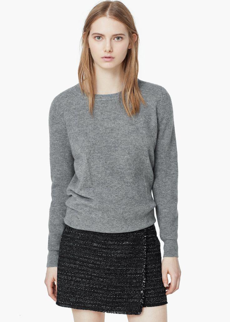 Jersey 100% cashmere -  Mujer | MANGO