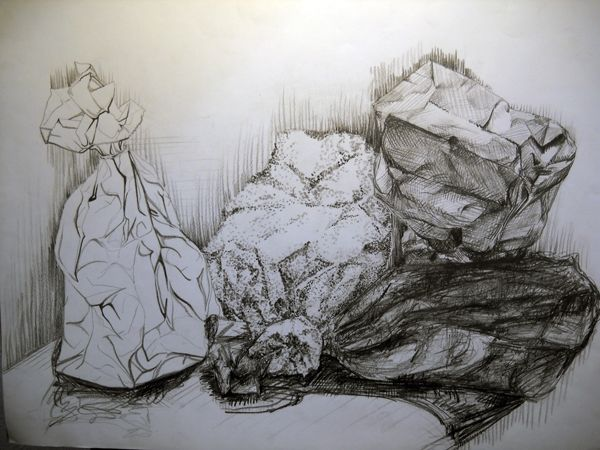 Advanced drawing assignments