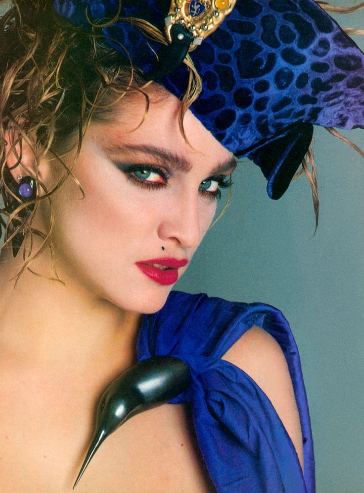 Madonna en 1984 - Photos par Francesco Scavullo - Madonna Gettogether