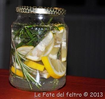 profumo per ambiente e detersivo per piatti al limone