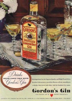 Gordon's Gin - MY FAVORITE GIN for Martinis