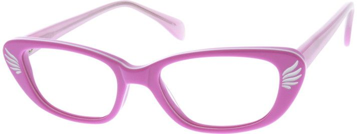 Nerd Glasses Zenni Optical : Purple Childrens Acetate Frame With Spring Hinges #6371 ...