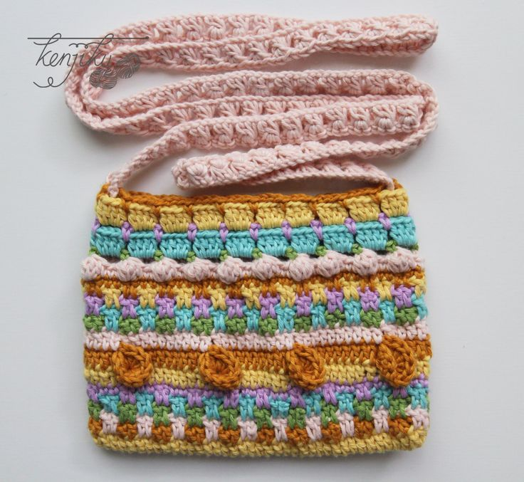 Merry Crochet Sling Bag  Crochet Pattern DIY by KenjikuMade on Etsy