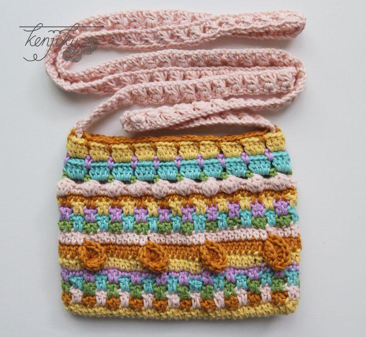 Merry Crochet Sling Bag  Crochet Pattern DIY by KenjikuMade on Etsy