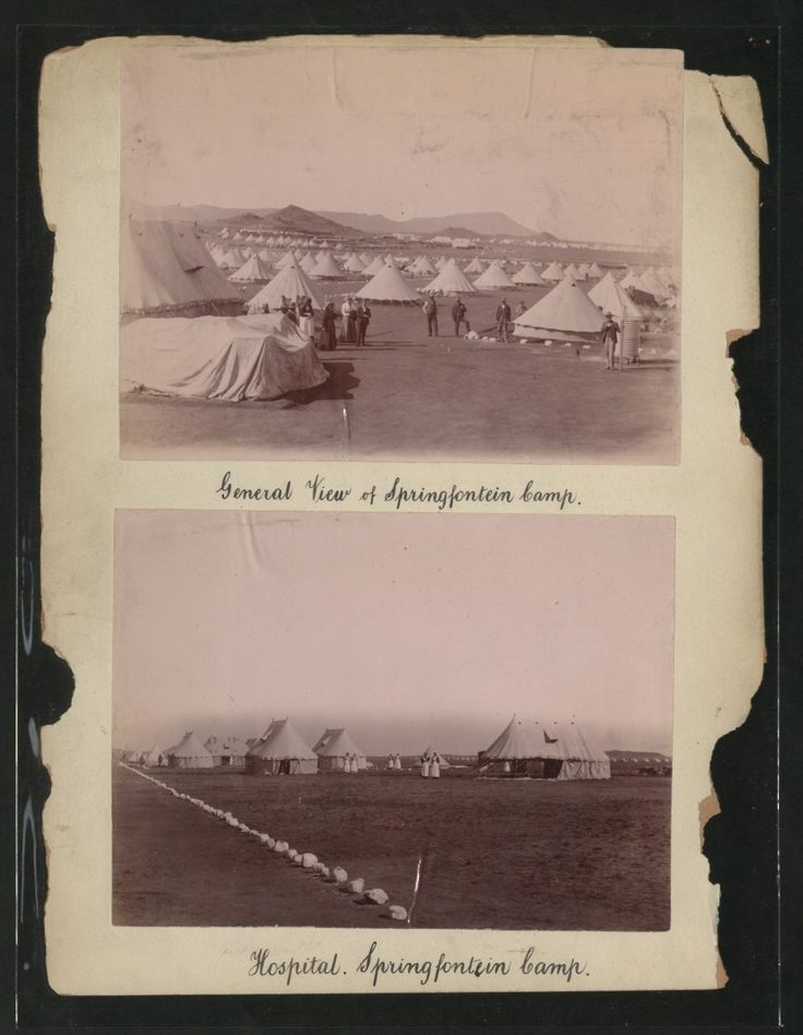General View of Springfontein Camp.