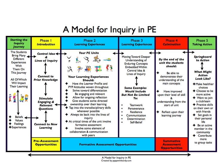 A Model for Inquiry in Physical Education