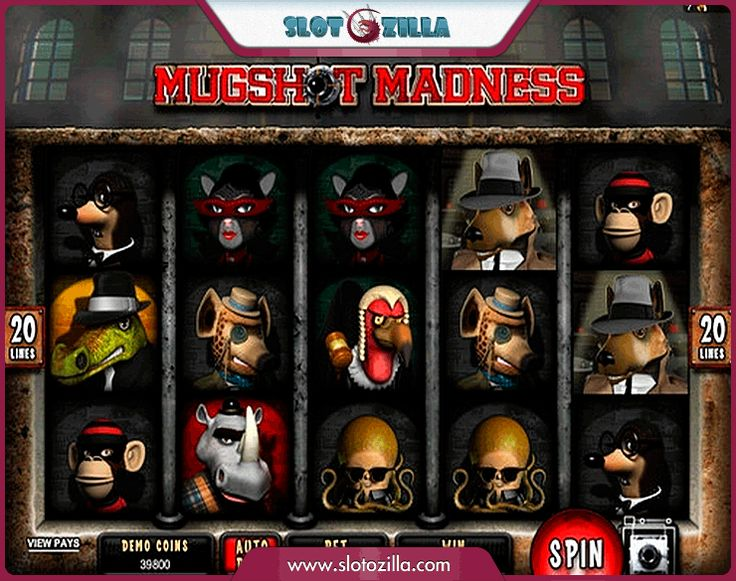 Mugshot Madness free #slot_machine #game presented by www.Slotozilla.com - World's biggest source of #free_slots where you can play slots for fun, free of charge, instantly online (no download or registration required) . So, spin some reels at Slotozilla! Mugshot Madness slots direct link: http://www.slotozilla.com/free-slots/mugshot-madness