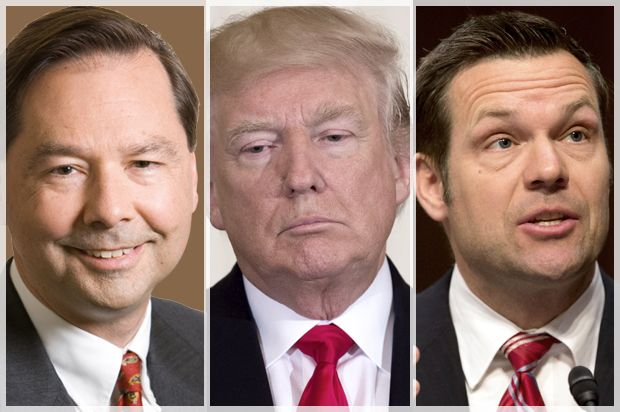 Trump's voter fraud commission turns transparency into intimidation: White House publishes personal information of concerned citizens How voter suppressionist Kris Kobach's latest move is closer to malevolence than it is incompetence