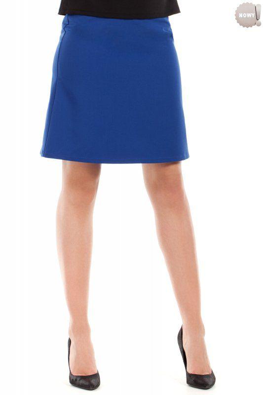 Gładka spódnica na podszewce, zapinana z boku na kryty zamek błyskawiczny. #spódnica #kobieta #moda #trendy  #biel