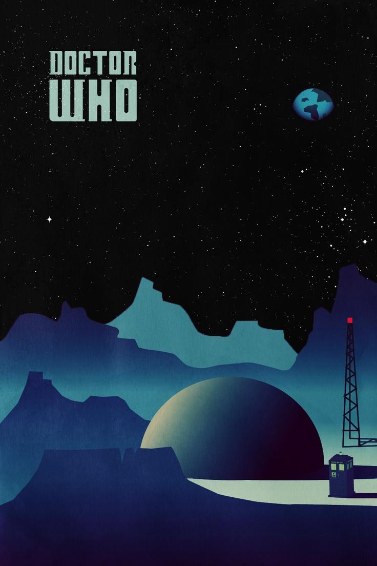 Big Doctor Who Poster | #illustration #drwho