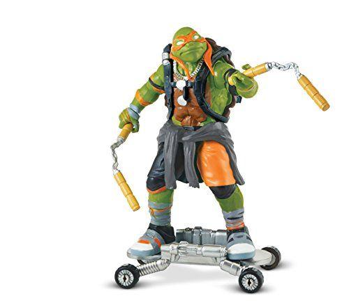 """Teenage Mutant Ninja Turtles """"mikey"""" Movie 2 Action Figure"""