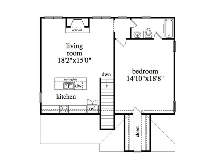 Plan 053g 0010 garage plans and garage blue prints from for Garage apartment floor plans do yourself