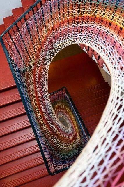 Urban Knitting - stairs