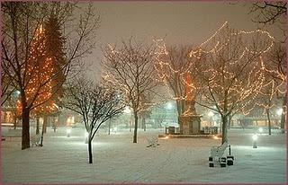 Christmas in Santa Fe, the Plaza