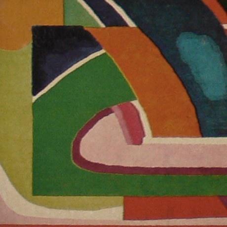 Edward Fields & Edward Durrell Stone, tapestry for Pepsico, 1967