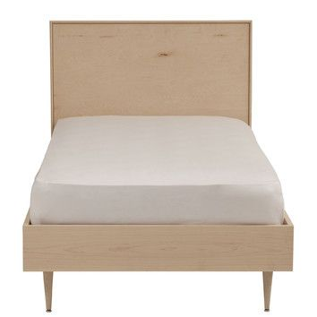 Urbangreen Midcentury Panel Bed-available in many finishes