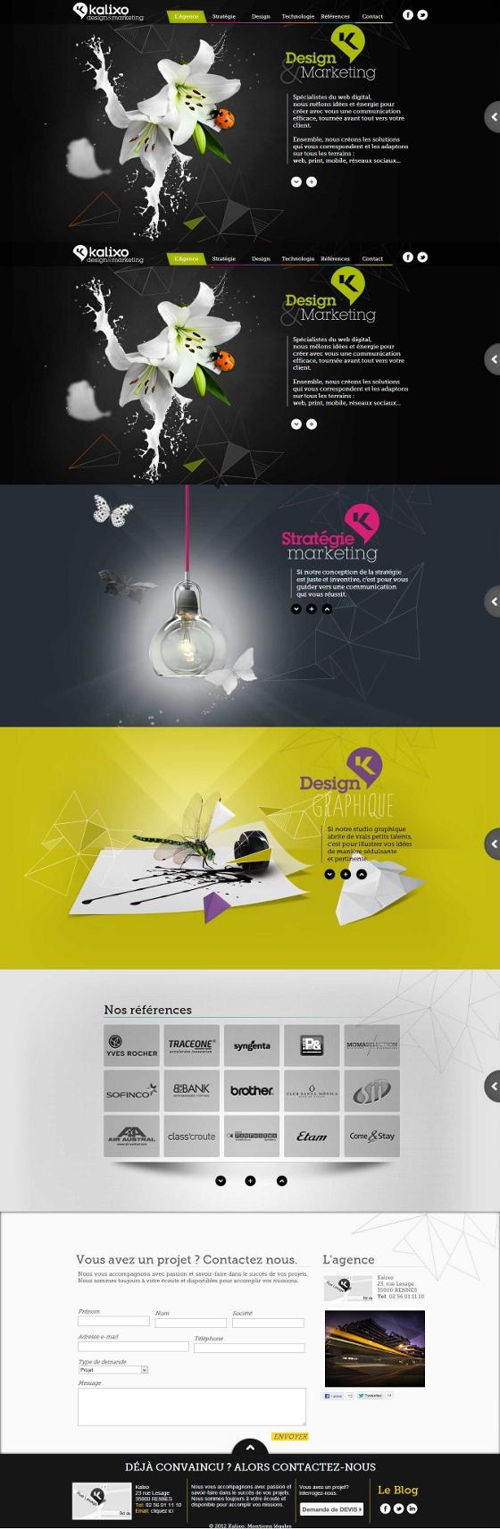 www.kalixo.fr | #webdesign #it #web #design #layout #userinterface #website #webdesign <<< repinned by an #advertising #agency from #Hamburg / #Germany - www.BlickeDeeler.de | Follow us on www.facebook.com/BlickeDeeler