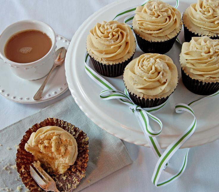 Billington's Salted Caramel Cupcakes