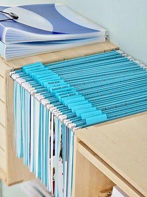 Student folders