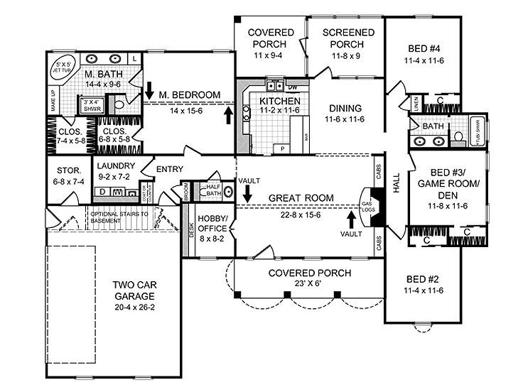 100 2000 Sq Ft Floor Plans 1000 Sq Ft House Plans