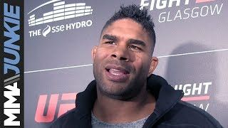 Alistair Overeem thinking about UFC heavyweight title, not boxing Anthony Joshua