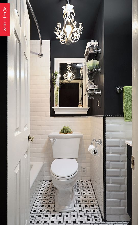 apartmenttherapy:  The Best Bathroom Makeovers of 2015  Best of 2015: http://ift.tt/1LFnAxh  http://ift.tt/1RxqdgI