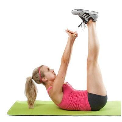 Vertical leg crunchVertical Leg Crunches
