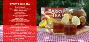 Barrys Iced Tea - We're keeping cool with some delicious Barry's Iced Tea. - See more