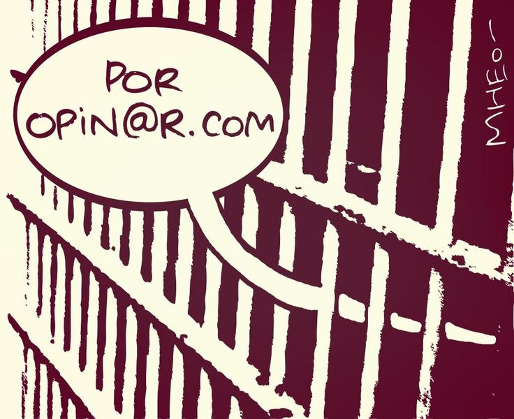 Por opin@r .... by Mheo #caricatura