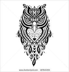 polynesian owl tattoo meaning - Pesquisa Google                                                                                                                                                     Mais