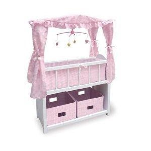 Badger Basket Canopy Doll Crib {FREE SHIPPING}