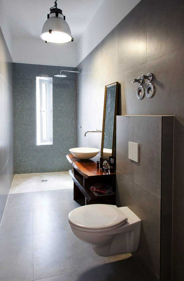 Elegant Toilet Design At Home With Minimalist Interior Wooden Style Sweden