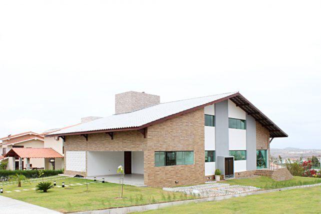 CASA DE CONDOMÍNIO EM GRAVATÁ | 2017 - raul lins | arquitetura -