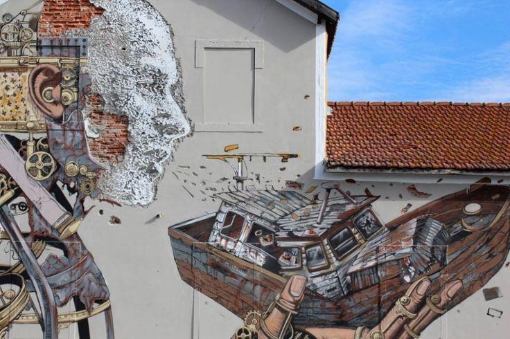 Galeria - Arte e Arquitetura: Os murais que o português Vhils cria através da destruição - 8