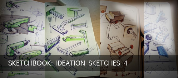 Sketchbook: Ideation Sketches 4