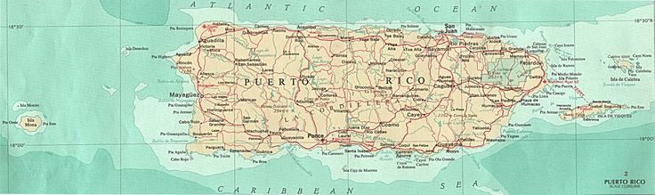 pictures of puerto rico | Commonwealth of Puerto Rico Maps