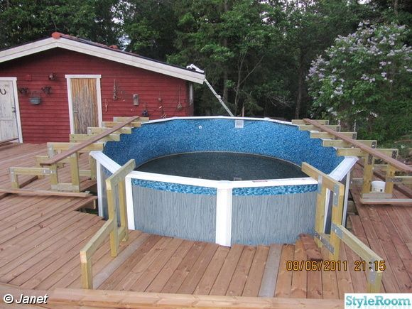 Billig inbyggd pool s k p google tr dg rd pinterest for Pool billig